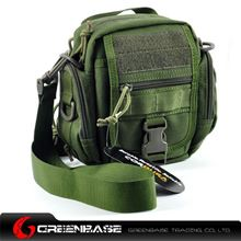 Picture of CORDURA FABRIC Multipurpose waist/Molle/backpack  Bag Green GB10002