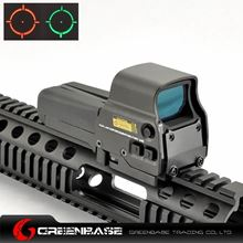 Picture of Tactical 518 QD Red And Green Dot Rifle Scopes Optical Sights Fit 20mm Weaver Rail For Hunting Black NGA0919