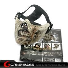 Picture of Zombie Army M05 Half-face Mask Corpse color GB10117