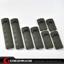 Picture of GB Rail Covers 8pcs/Pack Olive Drab  NGA0702