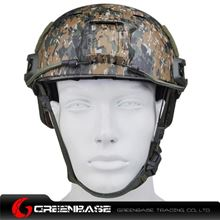 Picture of  NH 01003-Woodland Digital FAST Helmet-BJ TYPE Woodland Digital GB20038