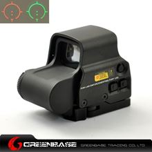 Picture of Tactical Red And Green T Dot Reticle Sight Rifle Scope Fit 20mm Weaver Rail For Hunting Black NGA0150