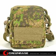 Picture of 1000D Single shoulder bag Green Camouflage GB10211