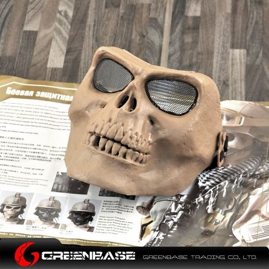 Picture of M02 soldiers face mask to protect the skeleton Khahi GB10238