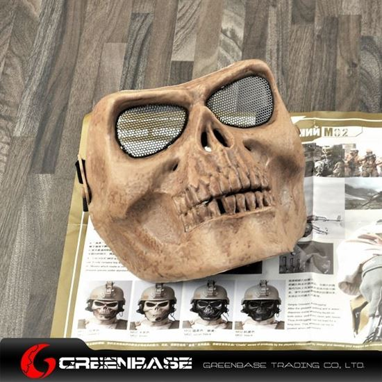 Picture of M02 soldiers face mask to protect the skeleton Skeleton GB10240