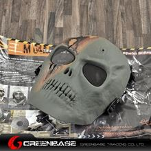 Picture of M01 CS Mask Skull Skeleton  Full Face Protect Mask Olive Drab GB10242