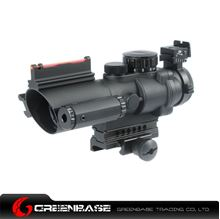 Picture of NB 4X32B with Green and Red Illumination Source Fiber Black NGA1074