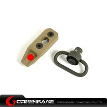 Picture of GB KeyMod Push Button Sling Mount Dark Earth GTA1176