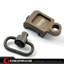 Picture of GB Rail Mount QD Sling Attachment Coyote Brown NGA0610