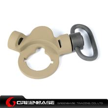 Picture of Unmark Steel Dual Side QD Sling Swivel Dark Earth for AEG NGA0388