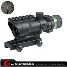 图片 NB Tactical 4X32 with Yellow Illumination Source Fiber NGA1088