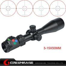 图片 Woltis 3-15x50mm BDC & Mil-Dot & RXR Reticle Riflescope Black WT-SCP-004