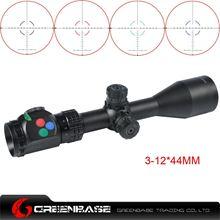 图片 Woltis 3-12x44mm BDC & Mil-Dot & RXR Reticle Riflescope Black WT-SCP-001