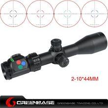图片 Woltis 2-10x44mm BDC & Mil-Dot & RXR Reticle Riflescope Black WT-SCP-005