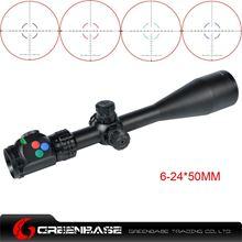 图片 Woltis 6-24x50mm BDC & Mil-Dot & RXR Reticle Riflescope Black WT-SCP-006