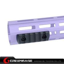 Picture of NB 5 Slots M-LOK Rail Section Fits M-LOK Hand Guard Black GTA1410
