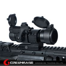 Picture of Tactical M2 1X32 Low Mount Red Dot Rifle Scope with Kill Flash Fit 20mm Weaver Rail Black NGA0237