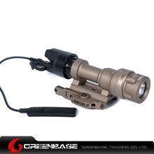 Picture of NB M952V LED WeaponLight For Rifles And SMGs White And IR Output Dark Earth NGA1255