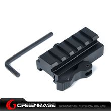 Picture of NB KC08 60mm QD Quick Detach Picatinny/Weaver Compact Lever Lock Adaptor Riser Rail NGA1118