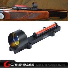 Picture of GB 1X28 Collimeter Sight Optic Fiber Red Circle Dot Sight For Shotgun NGA1263