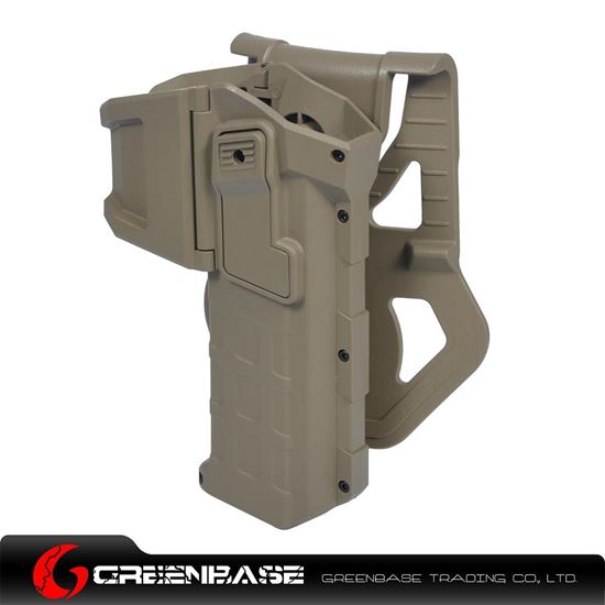Picture of NB Movable Holsters For 1911 Series Dark Earth NGA1267