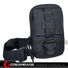 Picture of 9119# 1000D Inclined shoulder bag Black GB10171