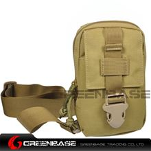 Picture of 9119# 1000D Inclined shoulder bag Khaki GB10173