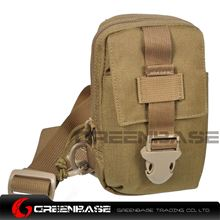 Picture of 9119# 1000D Inclined shoulder bag Coyote Brown GB10175