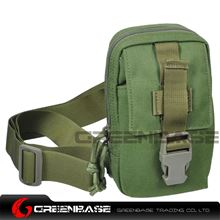 Picture of 9119# 1000D Inclined shoulder bag Green GB10177