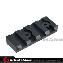 Picture of GB KM system Rail base for NSR rail Black GTA1165