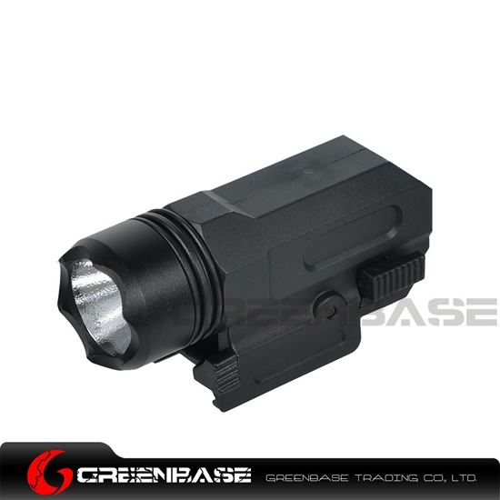 Picture of NB Airsoft Pistol Light Tactical Mini Gun Flashlight QD Quick Release Rifle Torch Black NGA1408