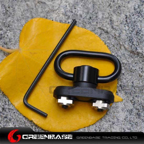 Picture of NB QD Quick Detach M-LOK Sling Swivel Mount Adapter For MLOK Handguard Black NGA1464