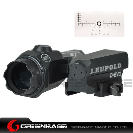 Picture of GB D-EVO Optical Sight CMR-W Reticle 6X20mm Tactical Riflescope Black NGA1487