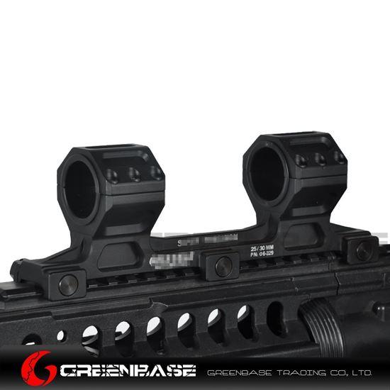 Picture of GB GE Scope Mount 25.4mm/30mm Scope Ring Mount Long Version Black NGA1552