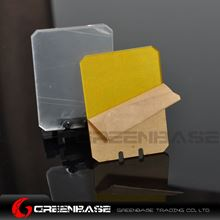 Picture of NB Square Folding Lens Protector Sight Cover Shield Panel 20mm Rail For Rifle Scope Black NGA1572